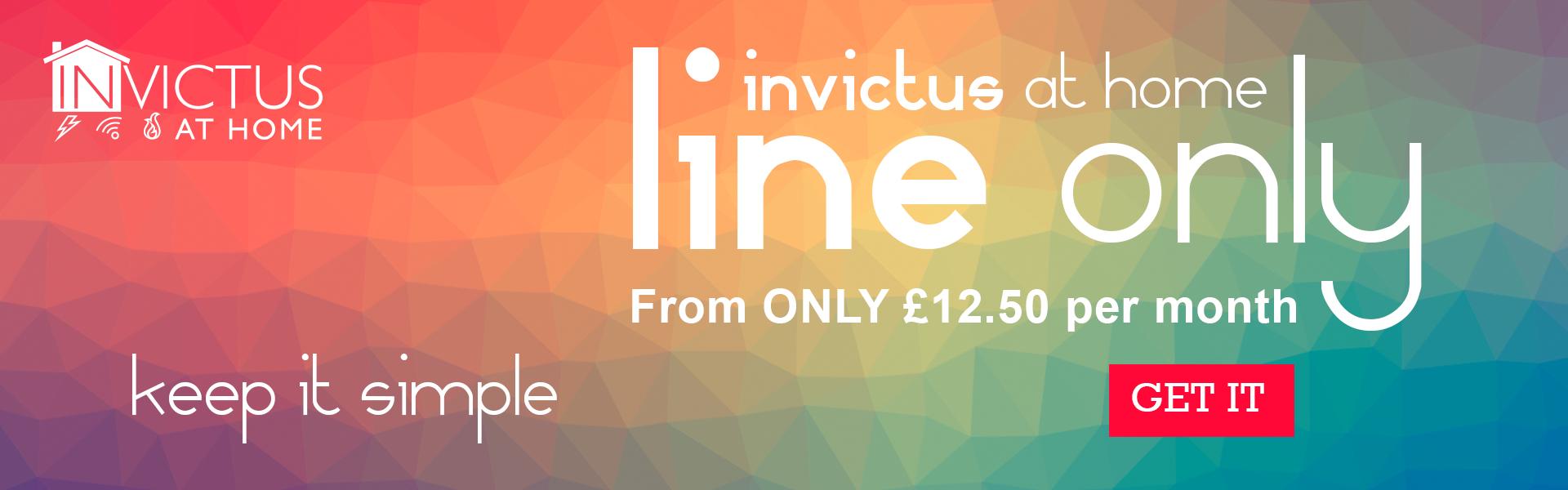 Line Rental £12.50